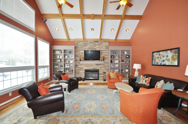 The perfect family room!