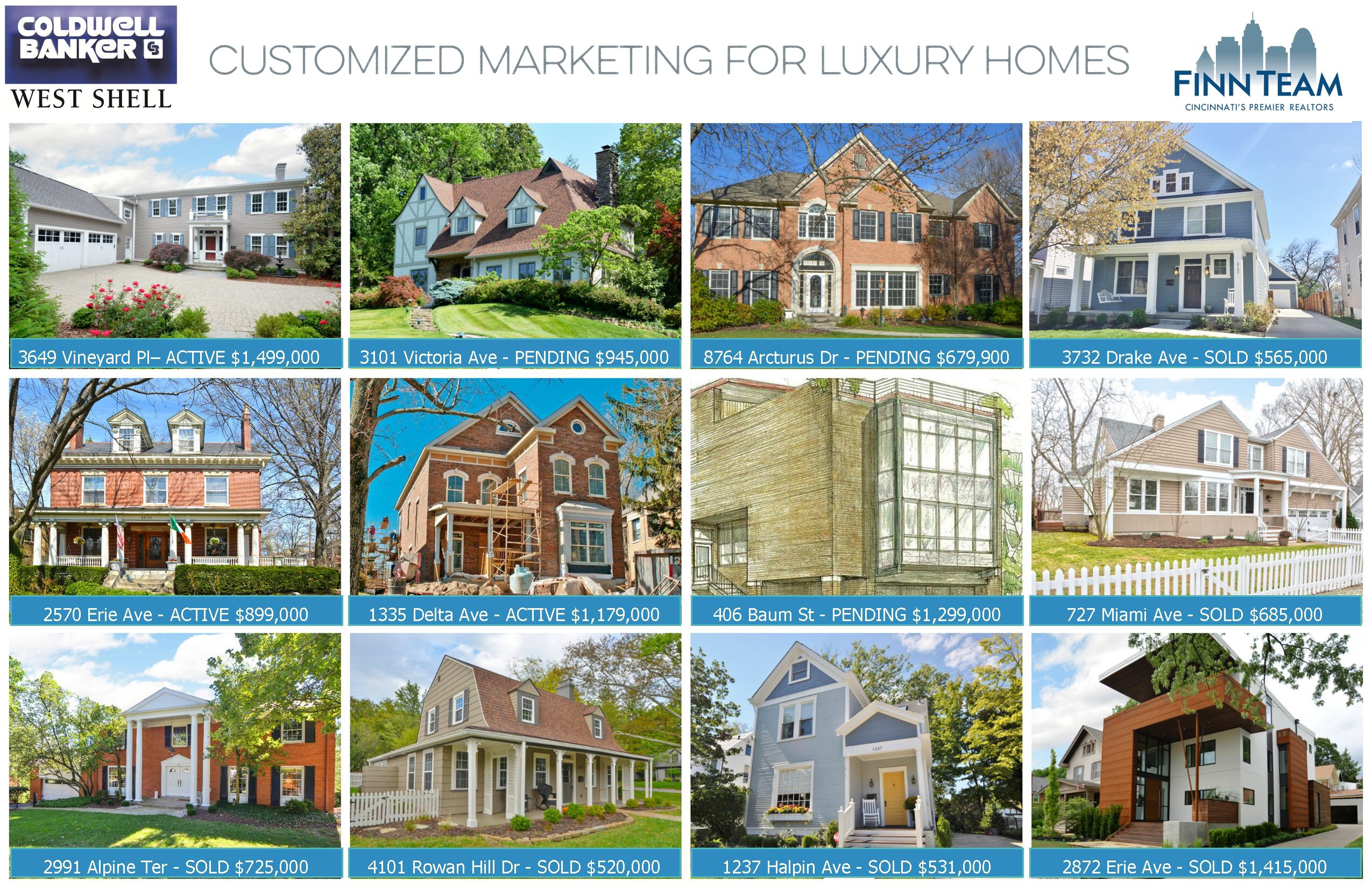 Beautiful Cincinnati Luxury Home Specialist