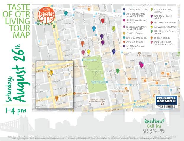 Finn Team Cincinnati Map